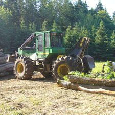A Cable Skidder